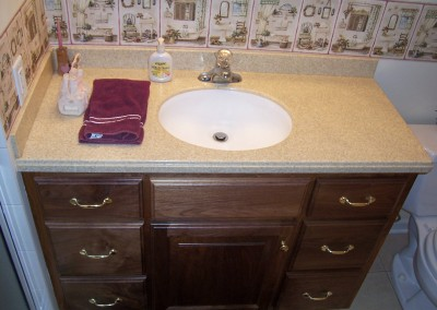 Custom Vanity for Bathroom Remodel
