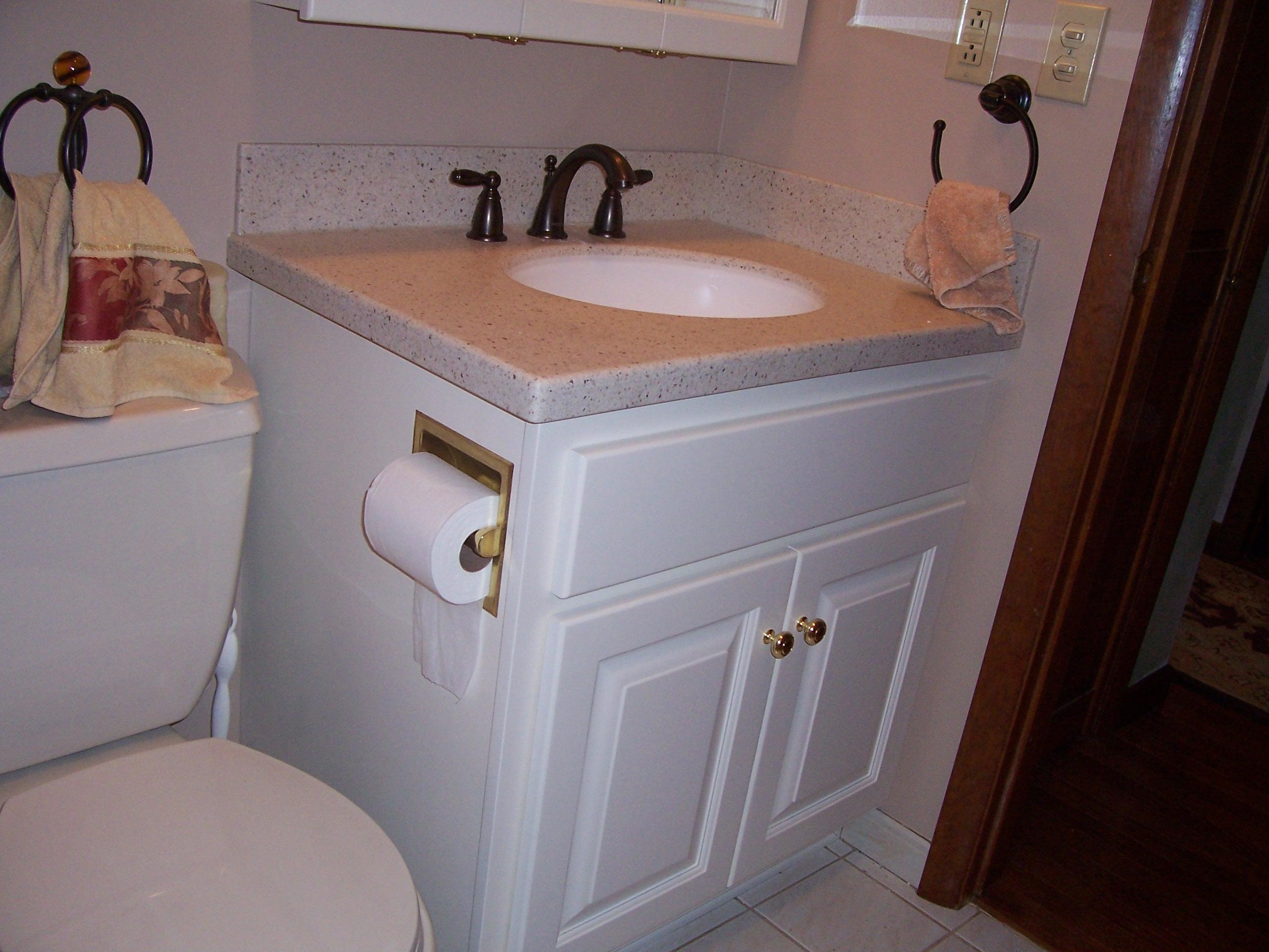 Custom Bathroom Vanities and Wall Cabinets