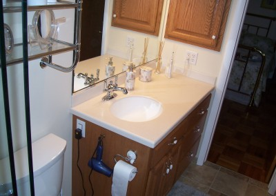 Bathroom Vanity with Undermount Sink