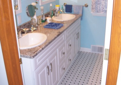Bathroom Double Sink Renovation