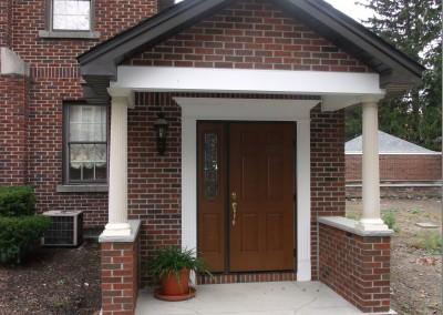 Brick Entryway
