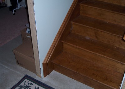 Simple Basement Staircase 2