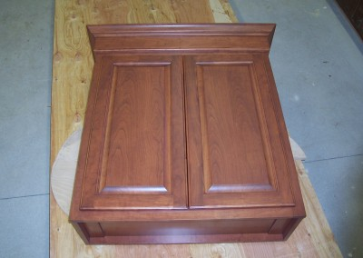 Wall Cabinet with Crown Molding